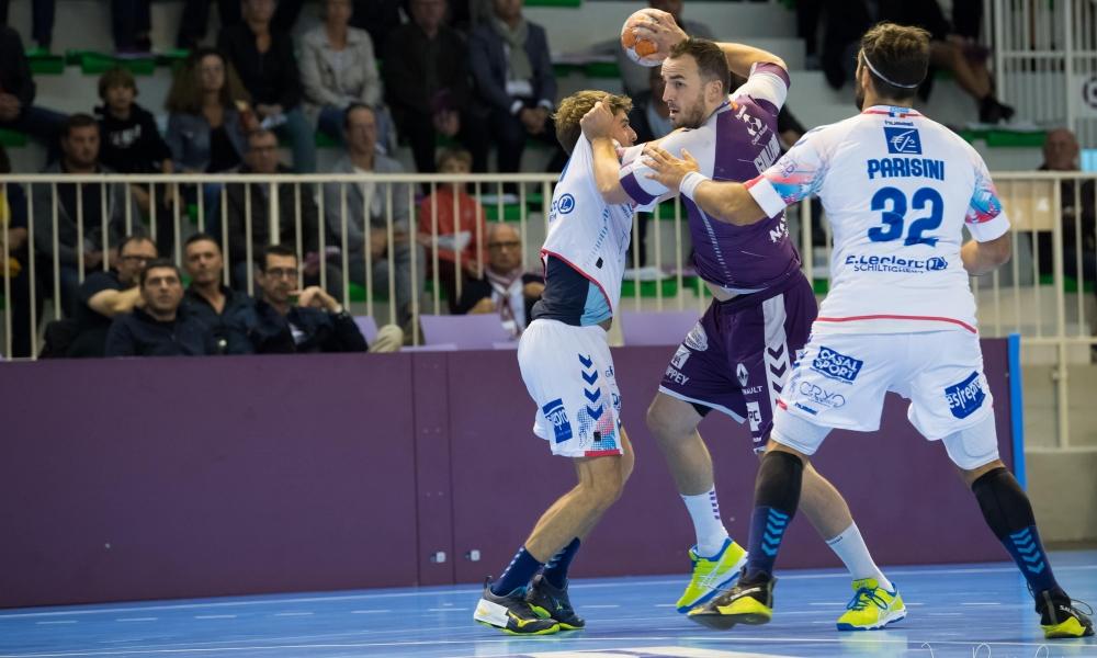 Les Mauves maîtres contre Strasbourg - 37-33