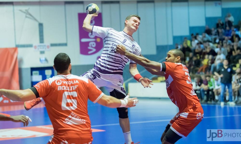 Victoire à l'extérieur pour les Mauves face à Valence Handball. 25-24